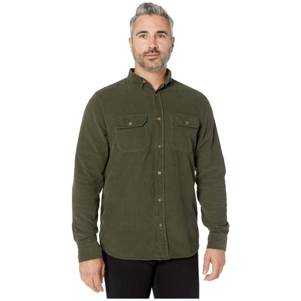 フェールラーベン Fjallraven メンズ シャツ トップス【Ovik Cord Shirt】Deep Forest