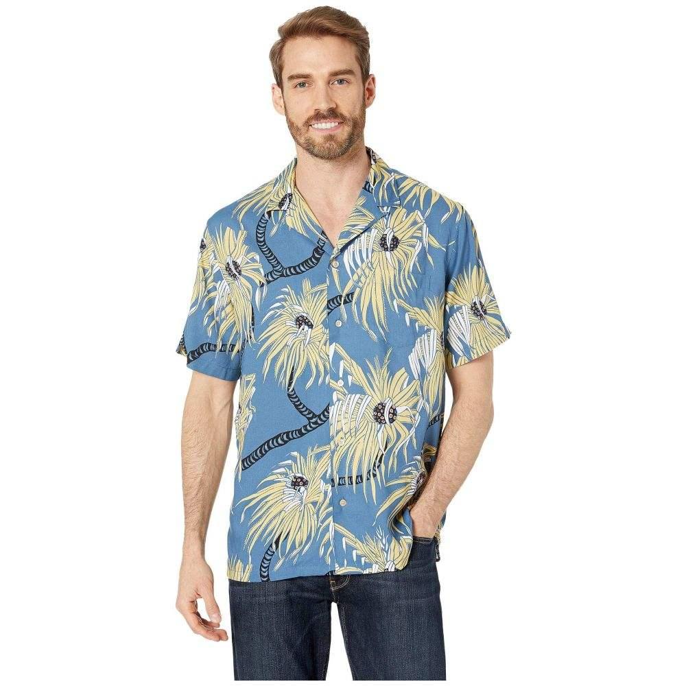 レインスプーナー Reyn Spooner メンズ シャツ トップス【Pololu Rayon Camp Shirt】Blue Horizon