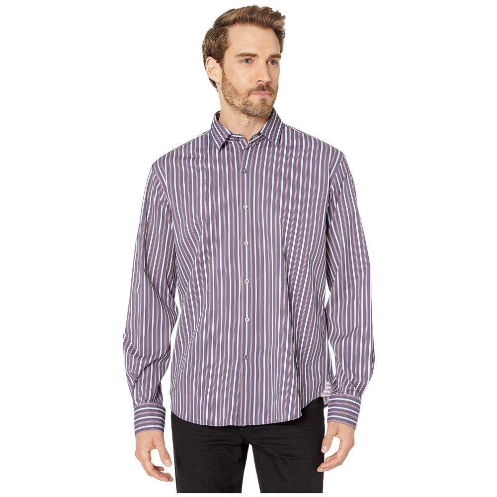 ブガッチ BUGATCHI メンズ シャツ トップス【Performance Jasper Classic Fit Long Sleeve Sport Shirt】Midnight