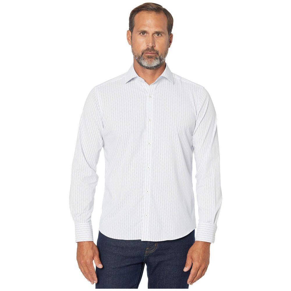 ブガッチ BUGATCHI メンズ シャツ トップス【Salvatore Performance Shaped Fit Shirt】White