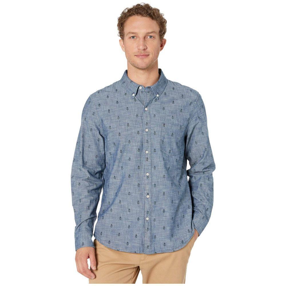 レインスプーナー Reyn Spooner メンズ シャツ トップス【Mini Norfolk Pine Long Sleeve Tailored】Blue Chambray