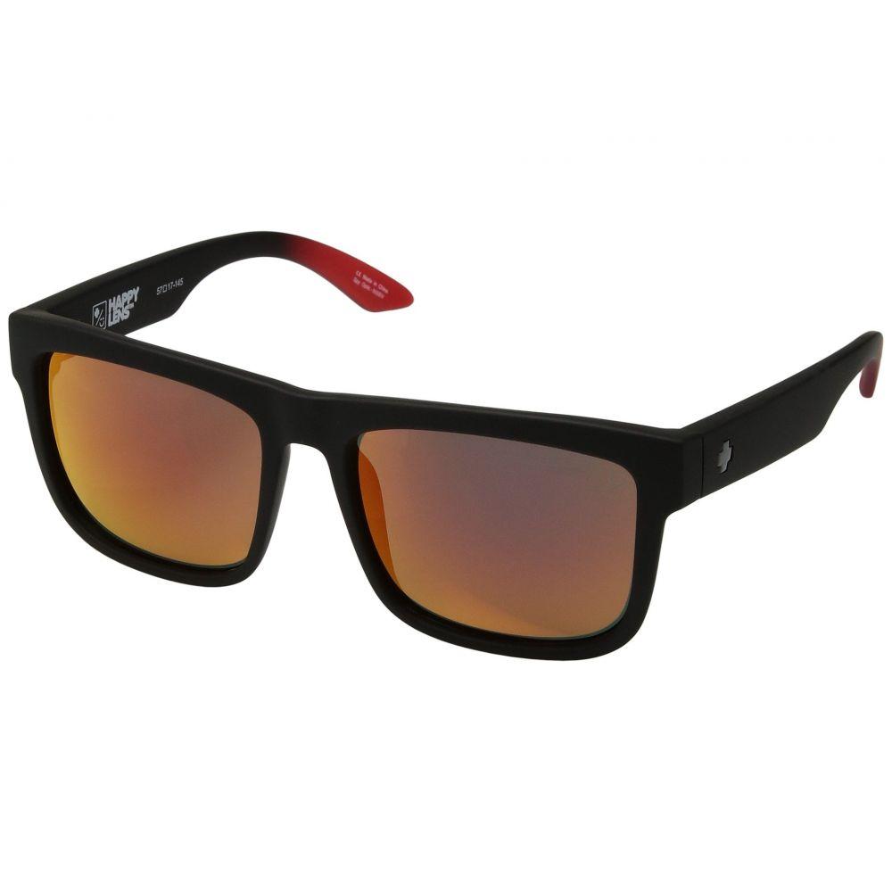 スパイ Spy Optic レディース メガネ・サングラス 【Discord】Soft Matte Black/Red Fade/HD Plus/Green/Red Light Spectr