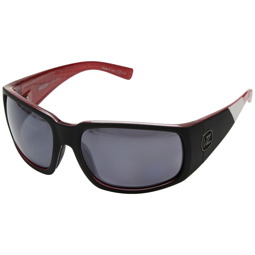 ボンジッパー VonZipper レディース メガネ・サングラス 【Palooka Polarized】Mc Black/Red/Wild Silver Chrome Polar Plus