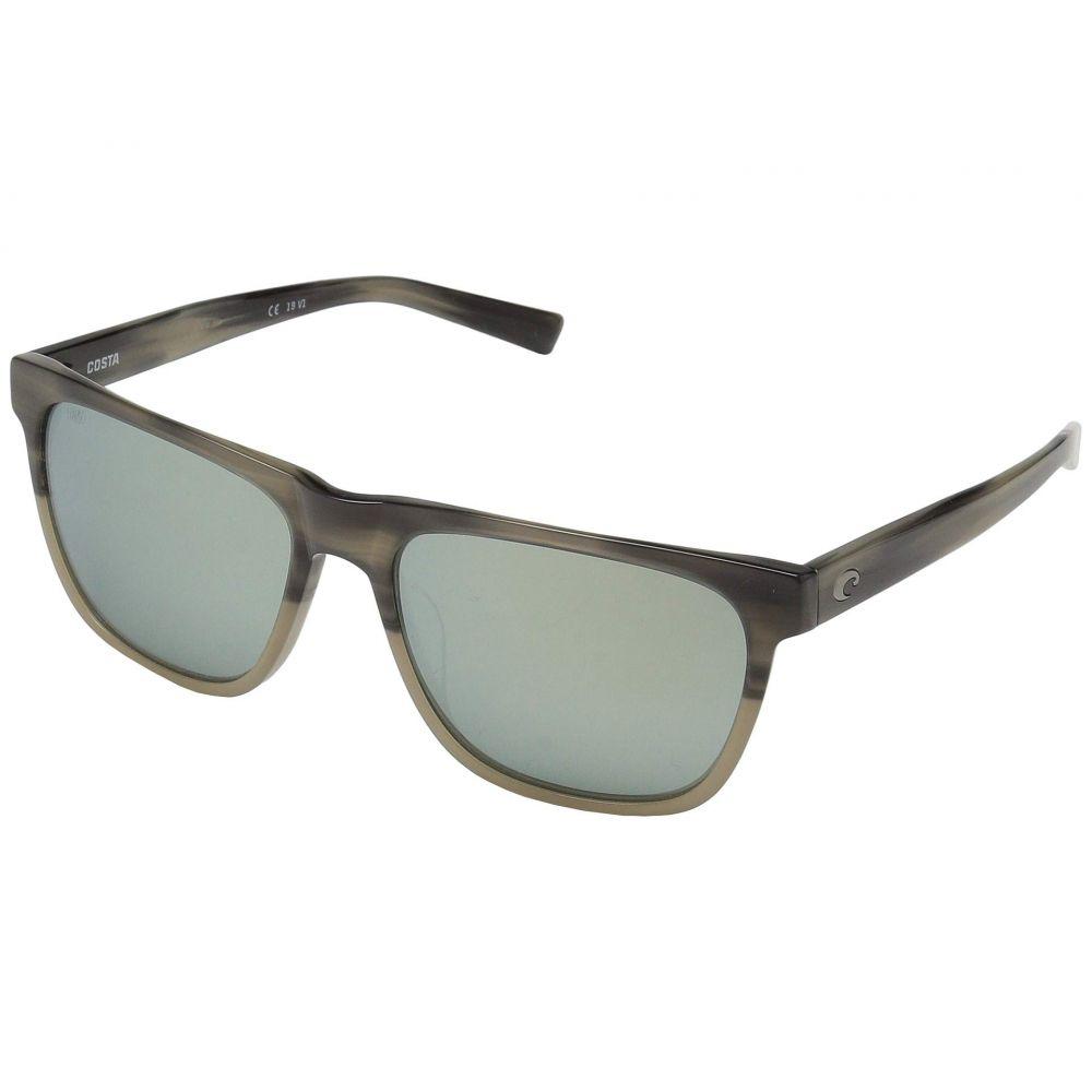 コスタ Costa レディース メガネ・サングラス 【Apalach】Gray Silver Mirror G/Shiny Sand Dollar Frame