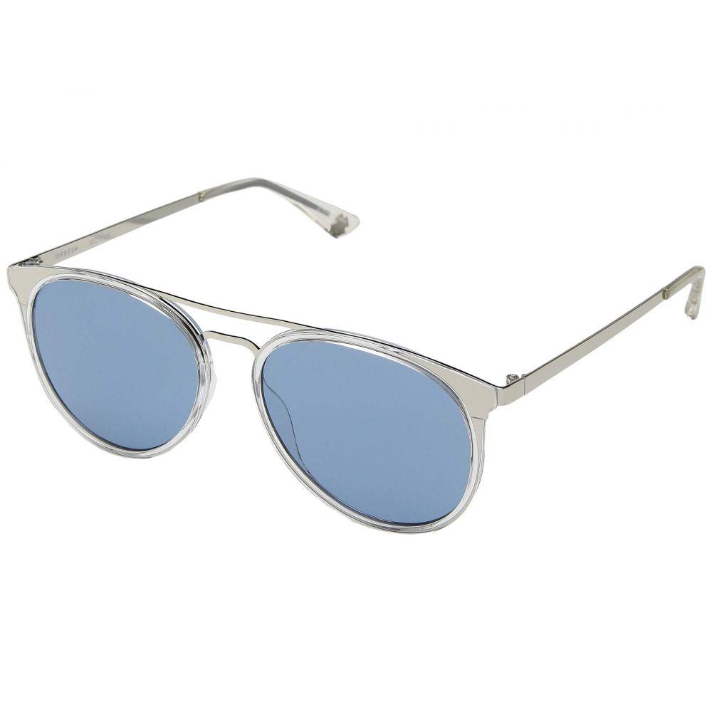 スパイ Spy Optic レディース メガネ・サングラス 【Toddy】Crystal Silver/Light Blue