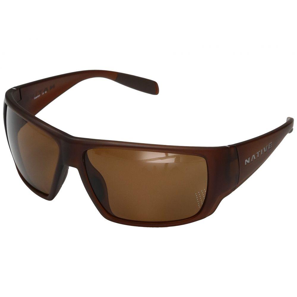 ネイティブアイウェア Native Eyewear レディース メガネ・サングラス 【Sightcaster】Matte Brown Crystal