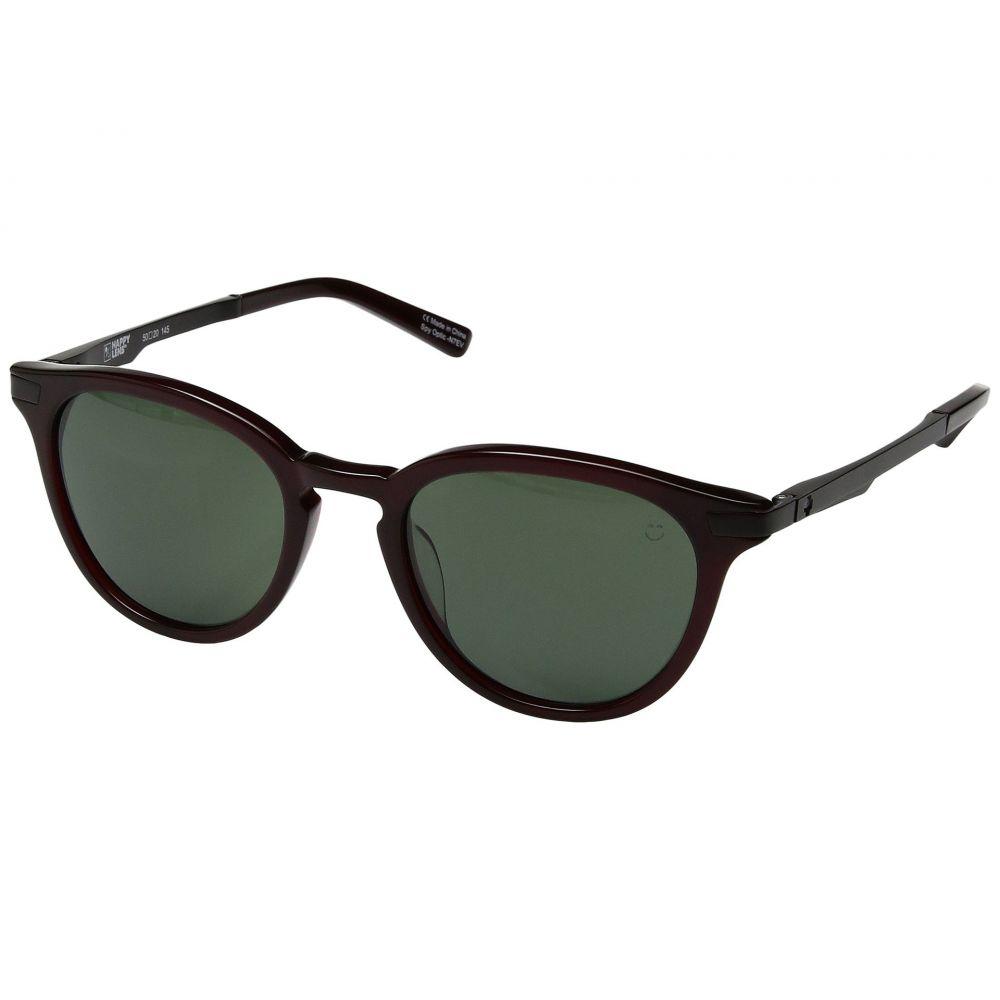 スパイ Spy Optic レディース メガネ・サングラス 【Pismo】Translucent Garnet/Happy Gray Green