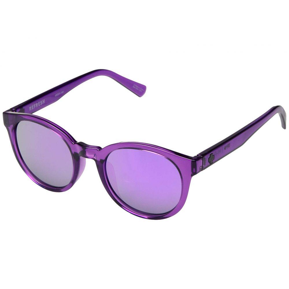 スパイ Spy Optic レディース メガネ・サングラス 【Hi-Fi】Amethyst/Gray/Purple Mirror