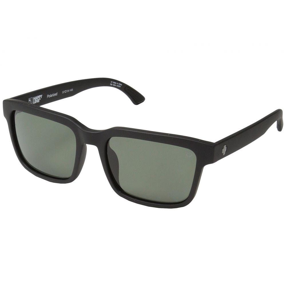 スパイ Spy Optic レディース メガネ・サングラス 【Helm 2】Matte Black/Happy Gray Green Polar