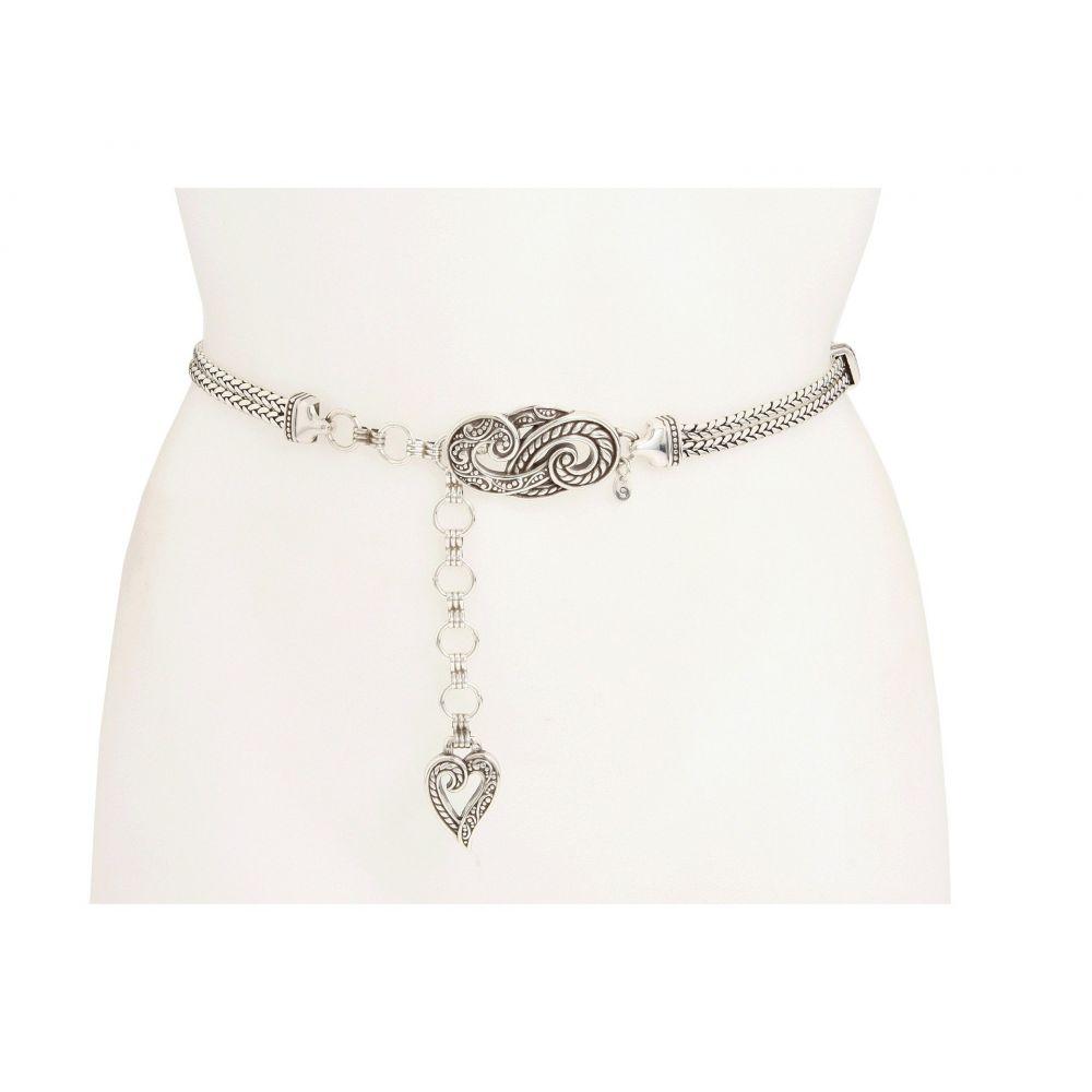 ブライトン Brighton レディース ベルト 【Bali Hai Chain Belt】Silver