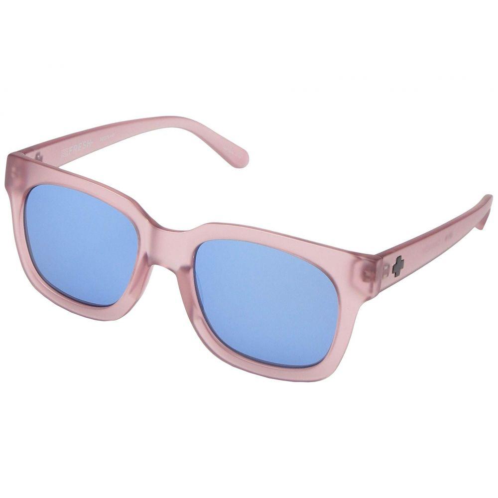 スパイ Spy Optic レディース メガネ・サングラス 【Shandy】Matte Trans Blush/Gray/Light Blue Flash Mirror