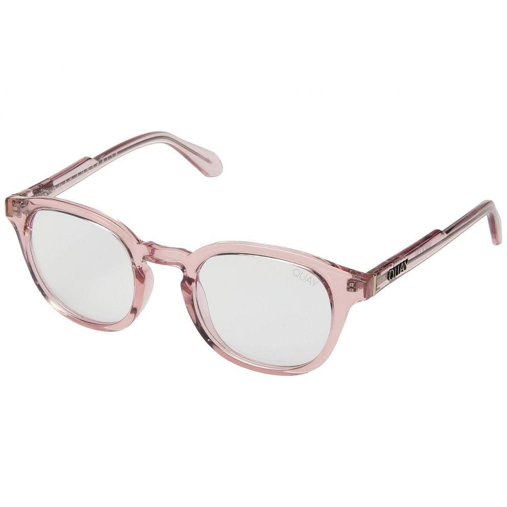 キー オーストラリア QUAY AUSTRALIA レディース メガネ・サングラス 【Walk On】Pink/Clear Blue Light