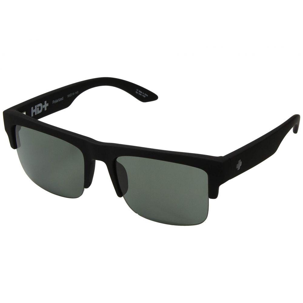 スパイ Spy Optic レディース メガネ・サングラス 【Discord 50/50】Soft Matte Black/HD Plus Gray Green Polar