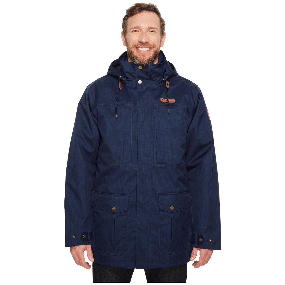 コロンビア Columbia メンズ スキー・スノーボード 大きいサイズ ジャケット アウター【Big & Tall Horizons Pine Interchange Jacket】Collegiate Navy/Collegiate Navy