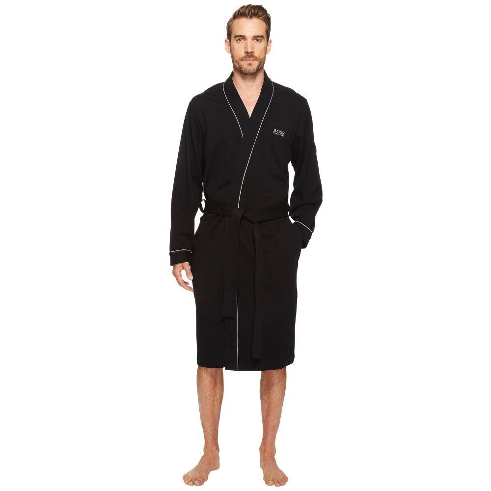 ヒューゴ ボス BOSS Hugo Boss メンズ パジャマ・トップのみ インナー・下着【Innovation 1 Cotton Kimono Robe】Black