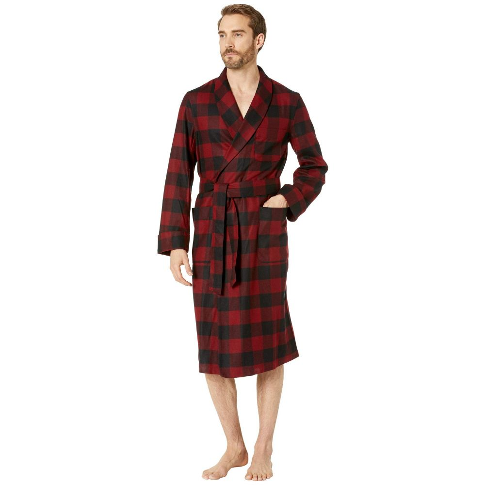 ペンドルトン Pendleton メンズ パジャマ・トップのみ インナー・下着【Lounge Robe】Red/Black Buffalo Check