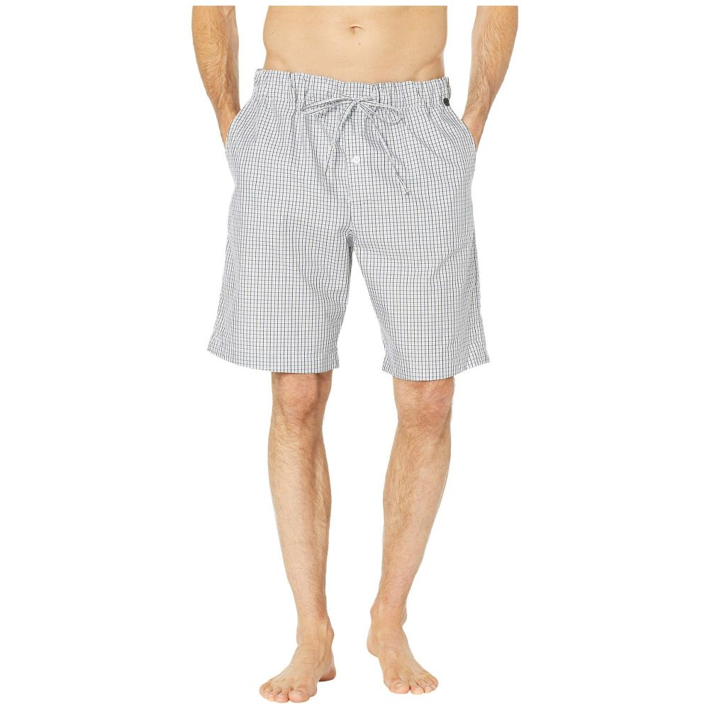 ハンロ Hanro メンズ パジャマ・ボトムのみ インナー・下着【Night & Day Short Woven Pants】Basic Shaded Check