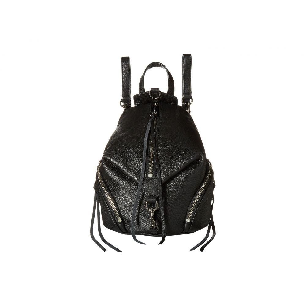 レベッカ ミンコフ Rebecca Minkoff レディース バックパック・リュック バッグ【Convertible Mini Julian Backpack】Black