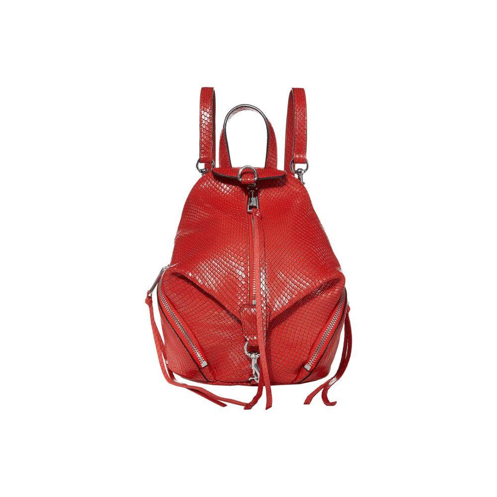 レベッカ ミンコフ Rebecca Minkoff レディース バックパック・リュック バッグ【Convertible Mini Julian Backpack】Tomato