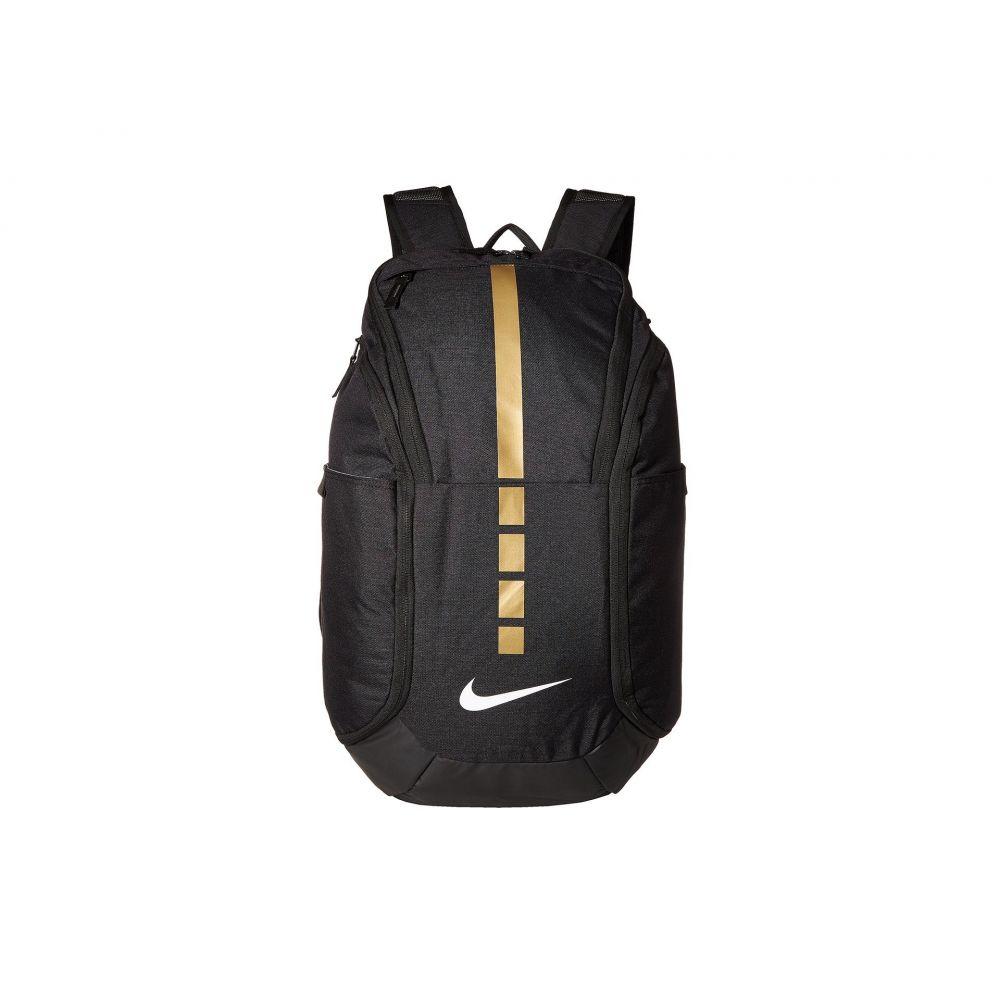ナイキ Nike レディース バックパック・リュック バッグ【Hoops Elite Pro Backpack】Black/Metallic Gold/White