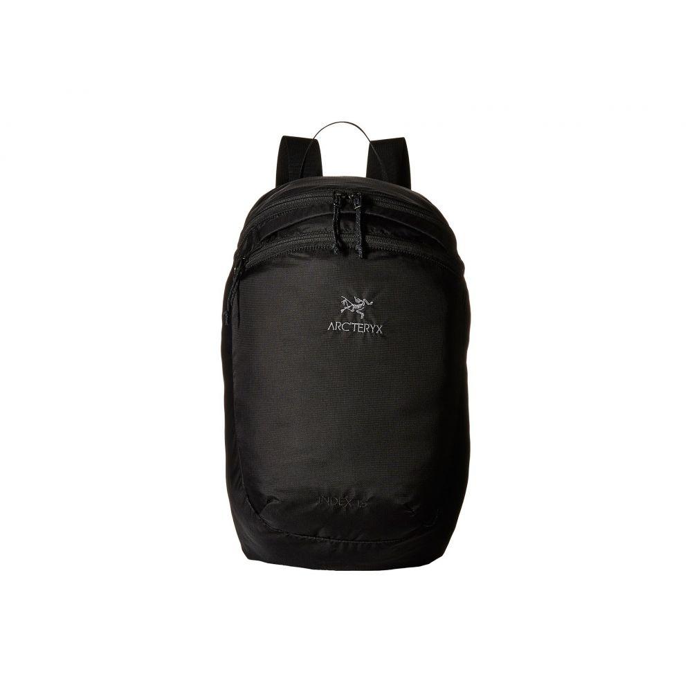 アークテリクス Arc'teryx レディース バックパック・リュック バッグ【Index 15 Backpack】Black