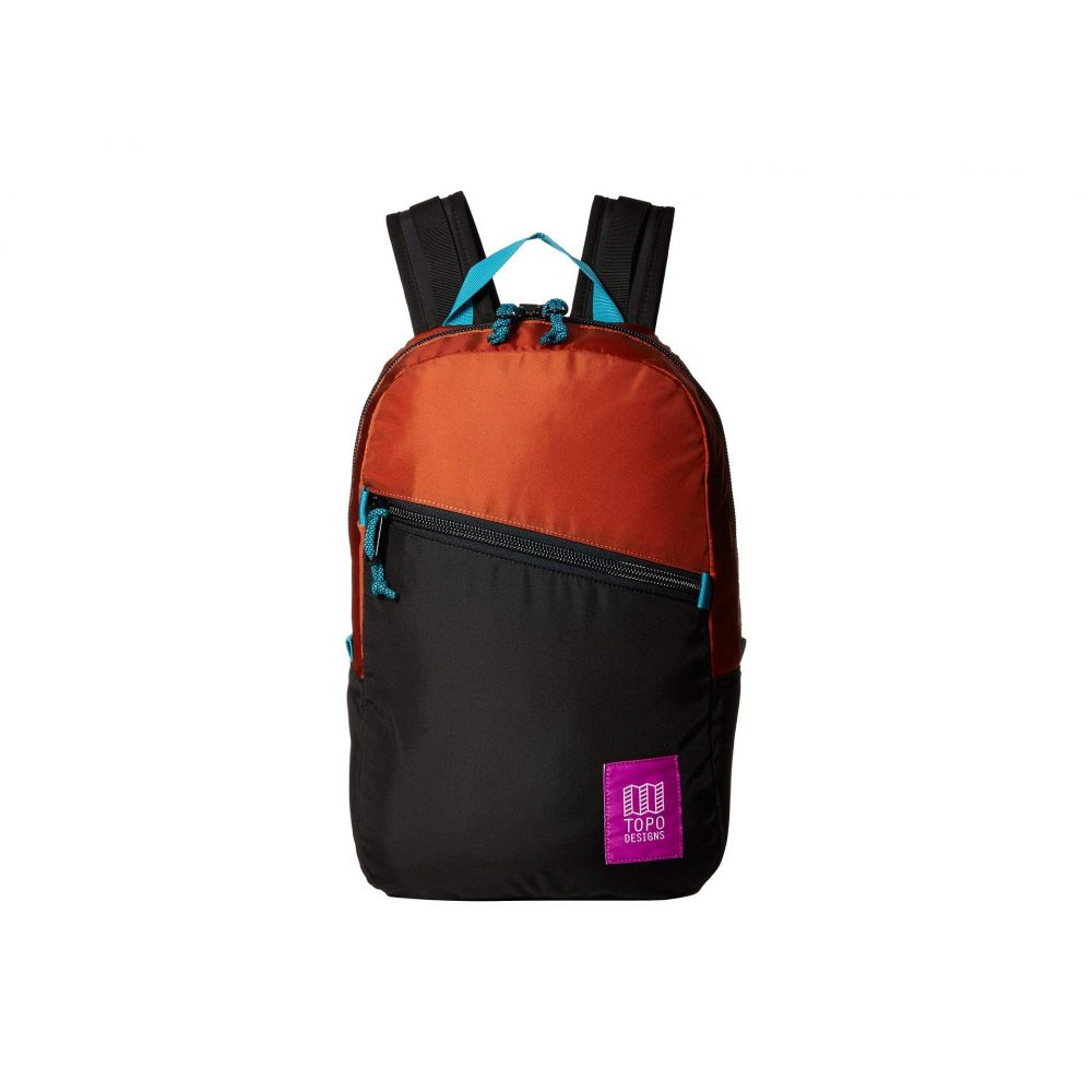 トポ デザイン Topo Designs レディース バックパック・リュック バッグ【Light Pack】Clay/Black