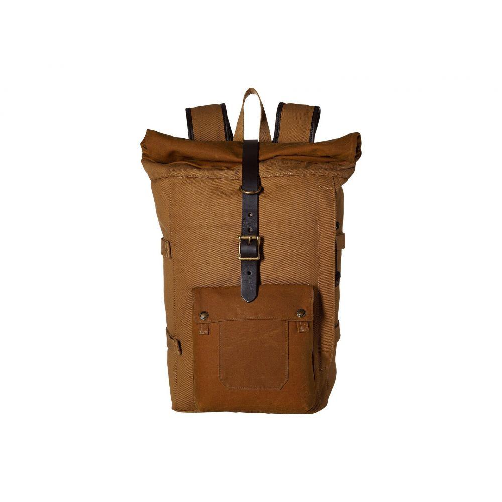 フィルソン Filson レディース バックパック・リュック バッグ【Roll Top Backpack】Tan