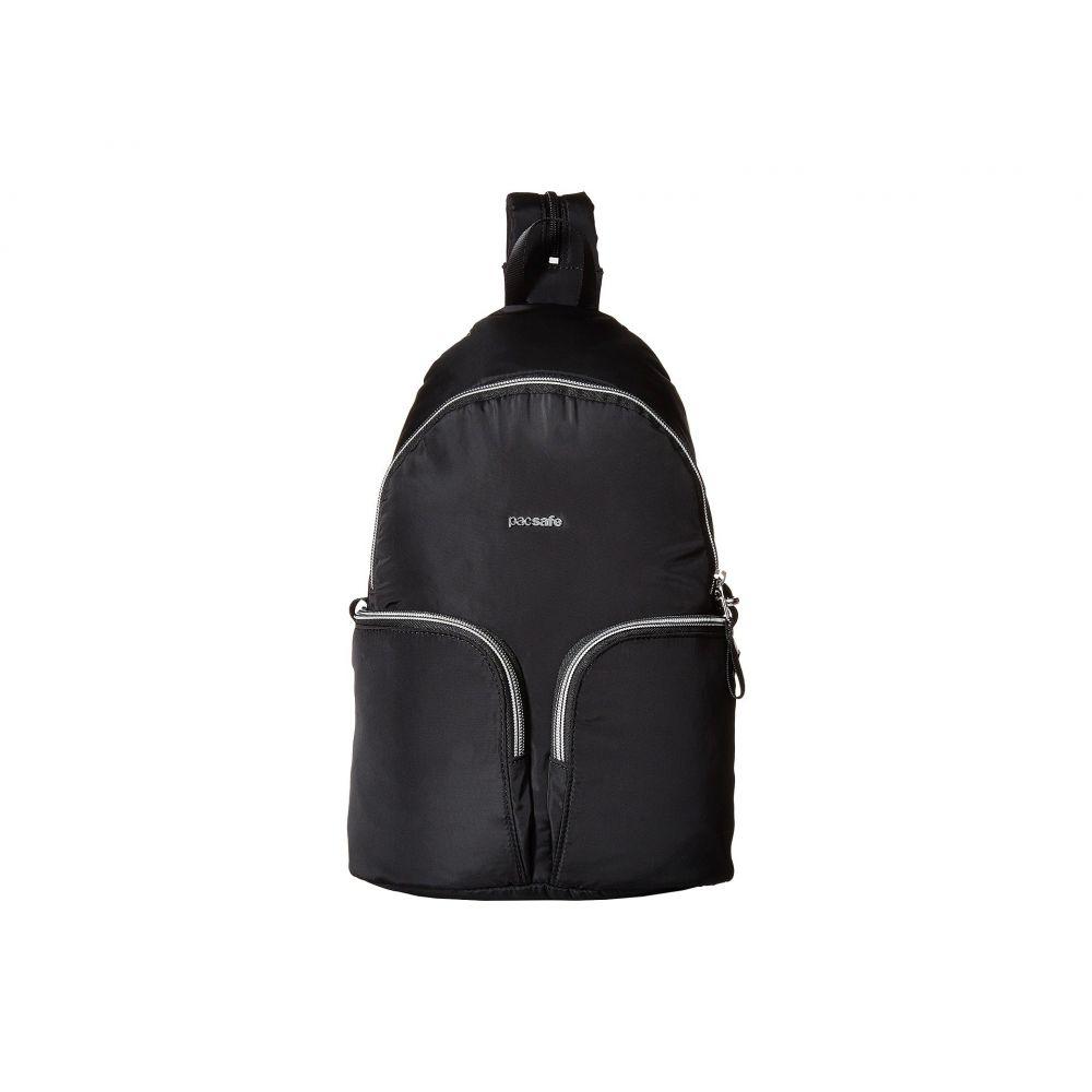 パックセイフ Pacsafe レディース バックパック・リュック バッグ【Stylesafe Anti-Theft Convertible Sling to Backpack】Black