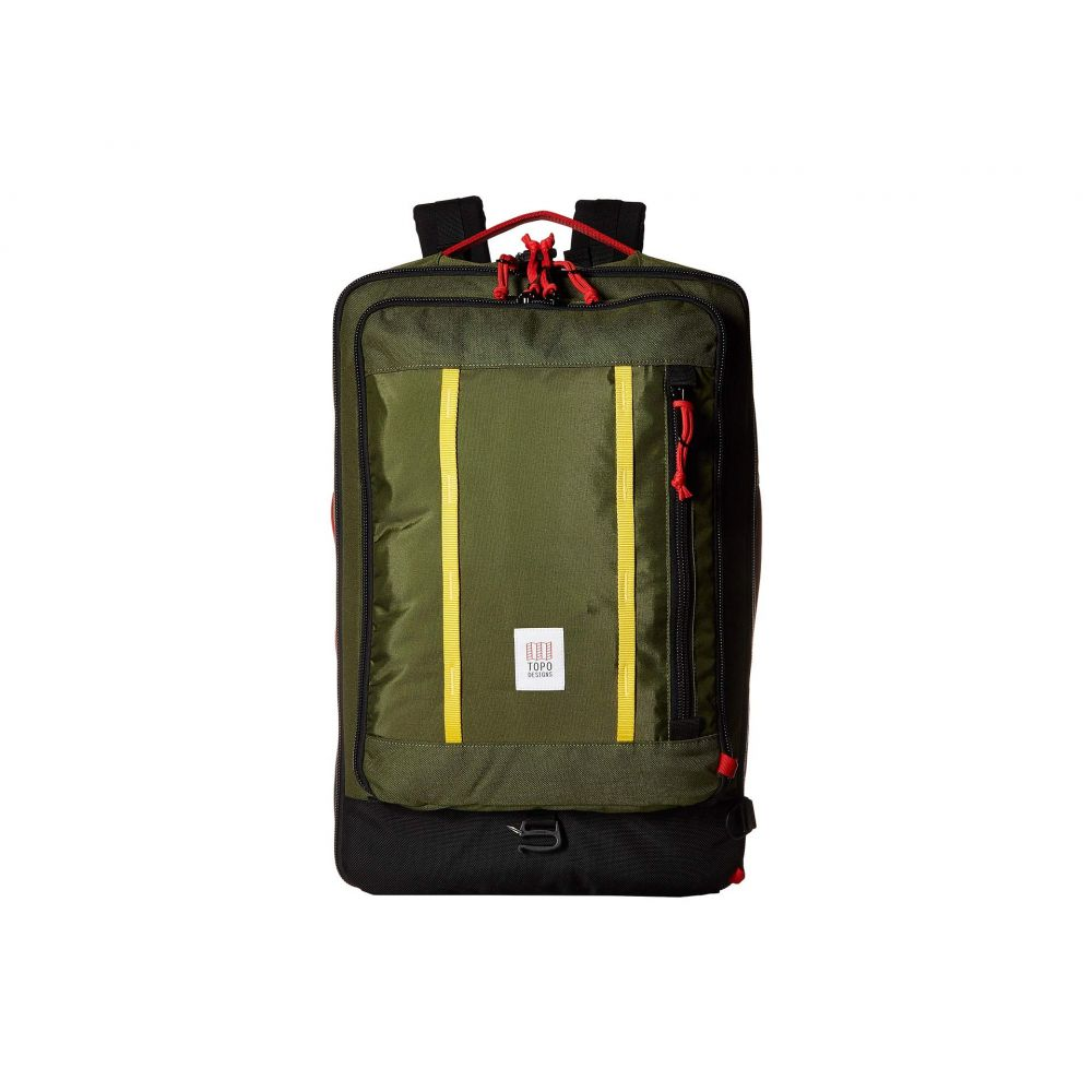 トポ デザイン Topo Designs レディース バックパック・リュック バッグ【Travel Bag 40L】Olive