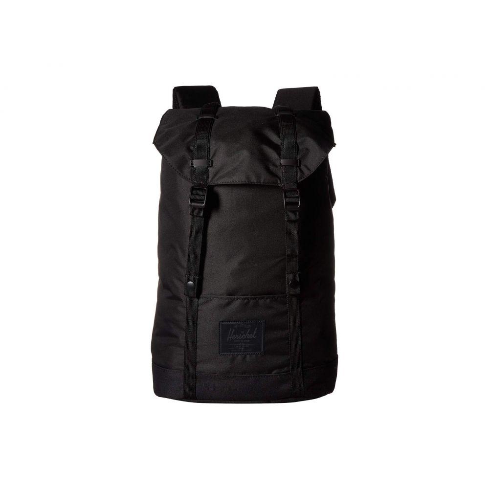 ハーシェル サプライ Herschel Supply Co. レディース バックパック・リュック バッグ【Retreat Light】Black