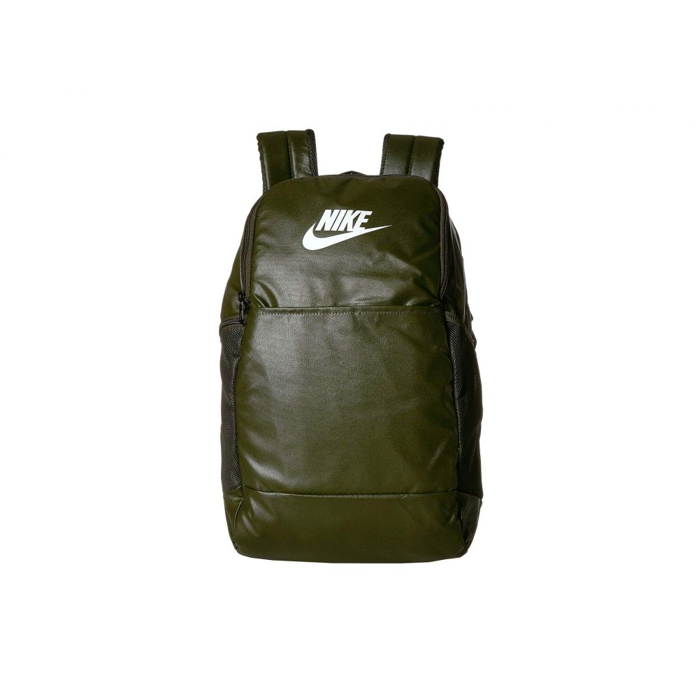 ナイキ Nike レディース バックパック・リュック バッグ【Brasilia Medium Training Backpack 9.0】Cargo Khaki/Cargo Khaki/White