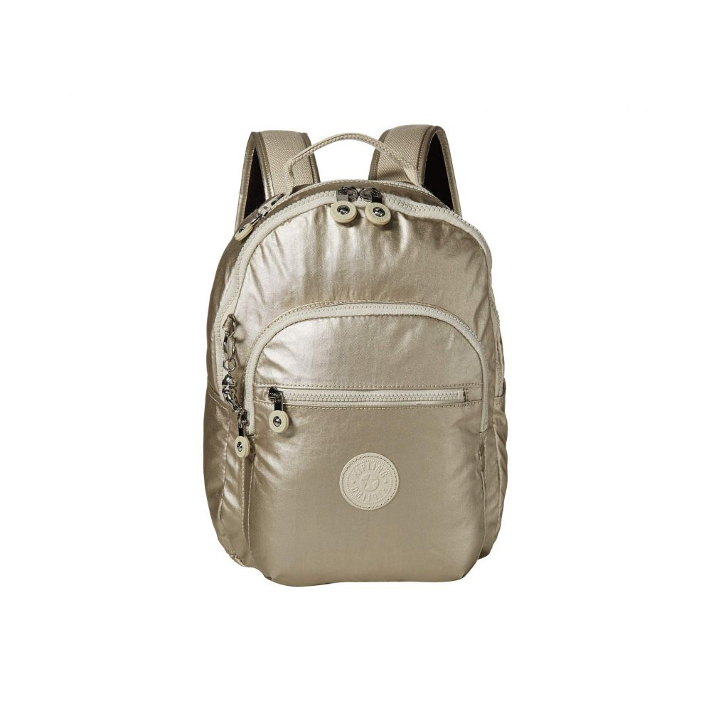 キプリング Kipling レディース バックパック・リュック バッグ【Seoul S Backpack】Cloud Metal