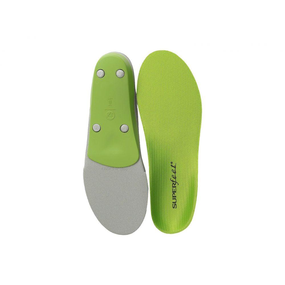 スーパーフィート Superfeet レディース インソール・靴関連用品 シューズ・靴【Premium Green】Green