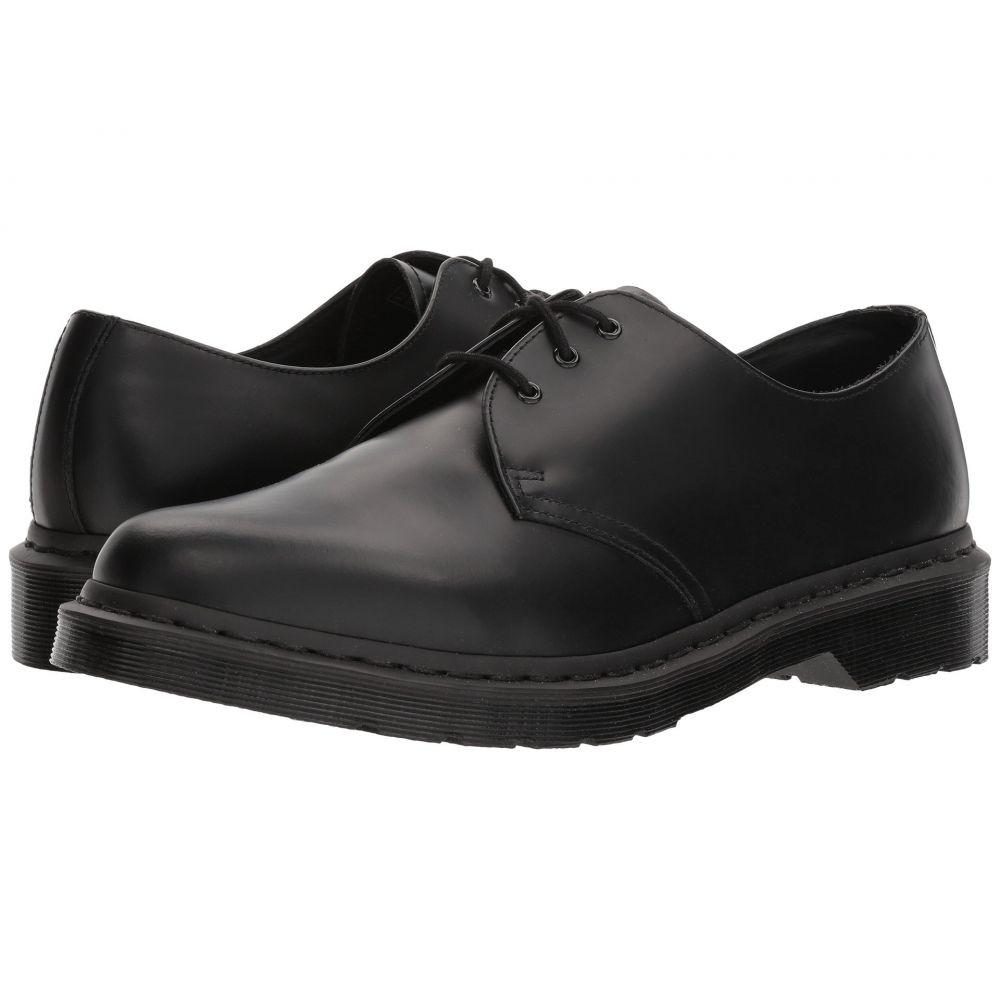 ドクターマーチン Dr. Martens レディース ローファー・オックスフォード シューズ・靴【1461 3-Tie Shoe】Black Smooth