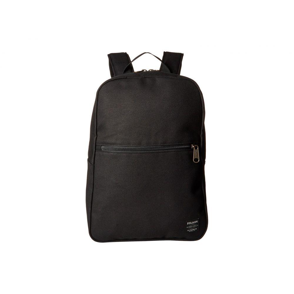 フィルソン Filson レディース バックパック・リュック バッグ【Bandera Backpack】Black