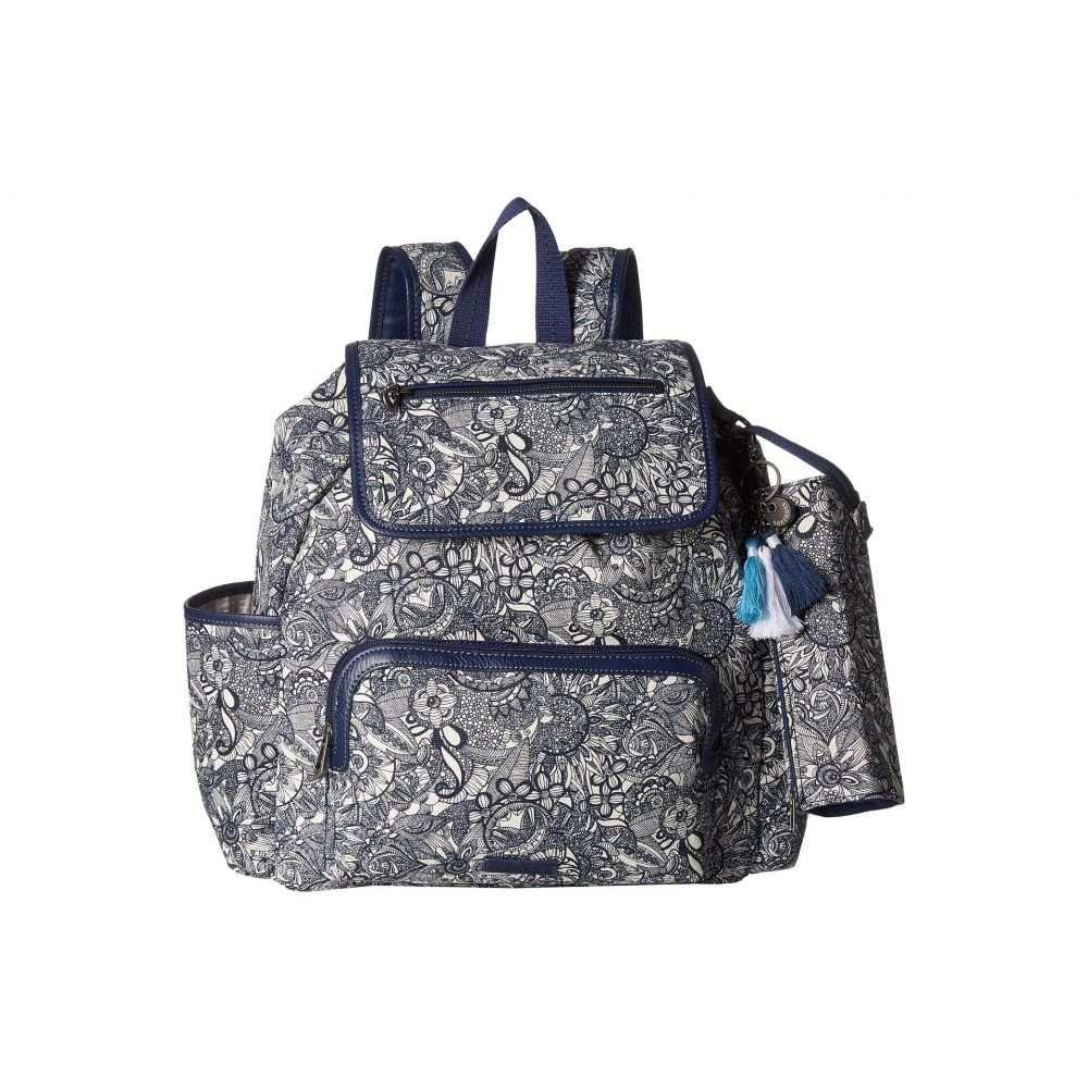 サックルーツ Sakroots レディース バックパック・リュック バッグ【Fleetwood Backpack】Navy Spirit Desert