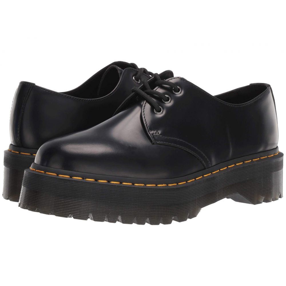 ドクターマーチン Dr. Martens レディース ローファー・オックスフォード シューズ・靴【1461 Quad Platform】Black