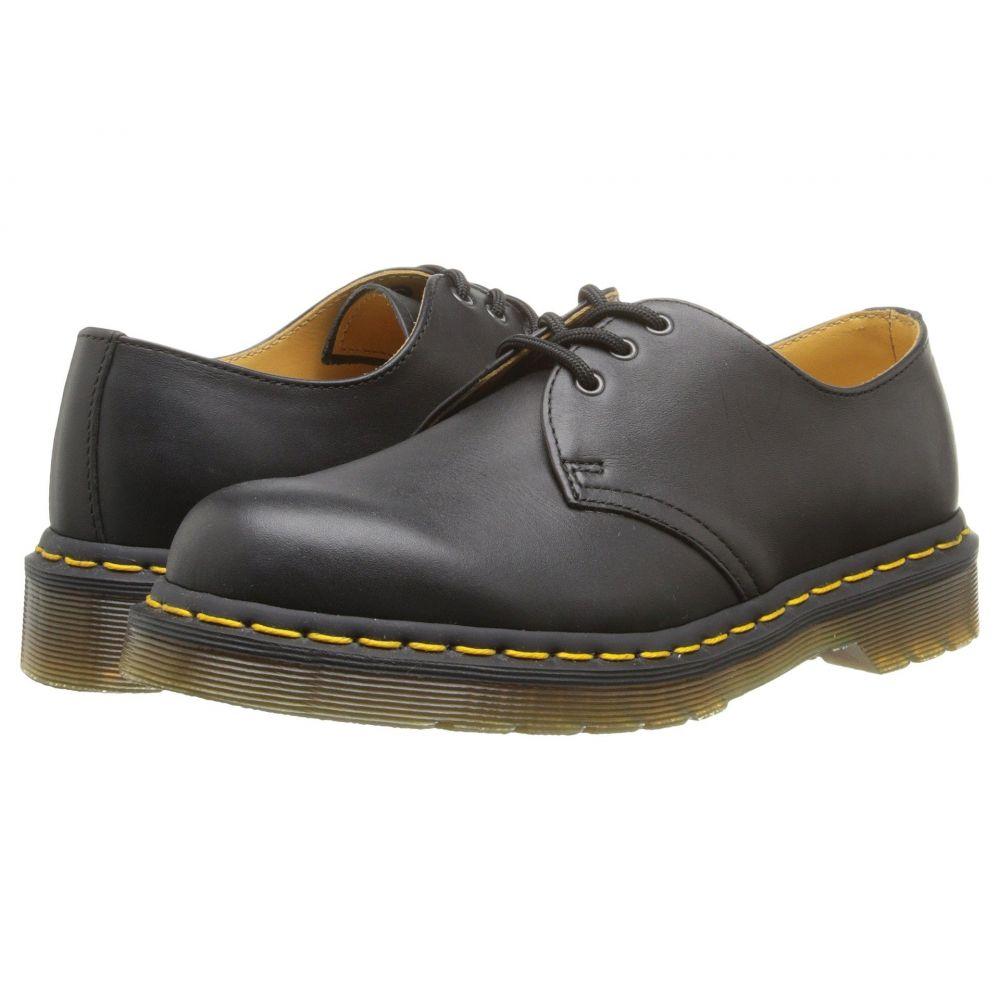 ドクターマーチン Dr. Martens レディース ローファー・オックスフォード シューズ・靴【1461 3-Eye Gibson】Black Nappa Leather