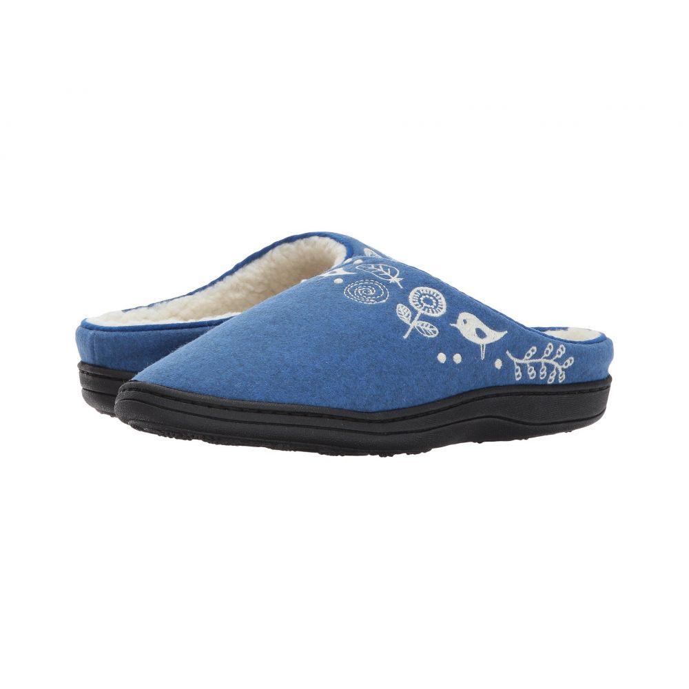 エーコーン Acorn レディース スリッパ シューズ・靴【Talara Mule】Heathered Blue