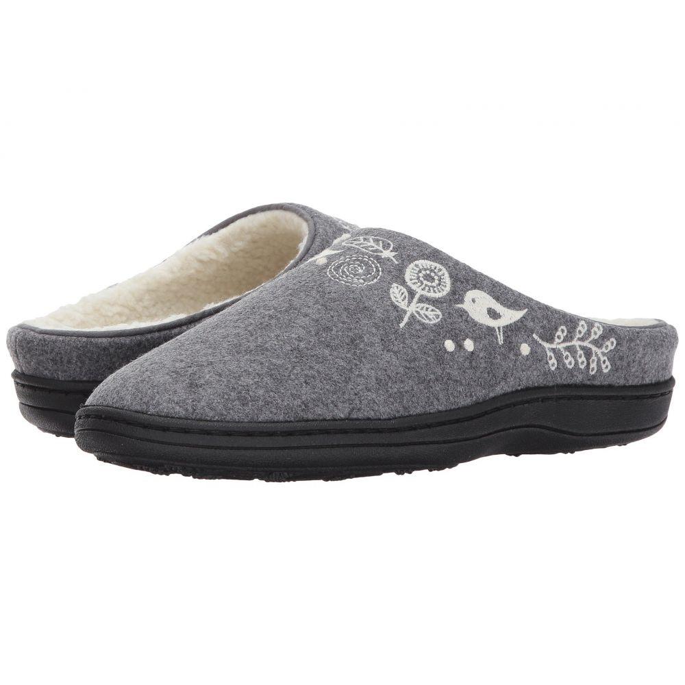 エーコーン Acorn レディース スリッパ シューズ・靴【Talara Mule】Charcoal Heather