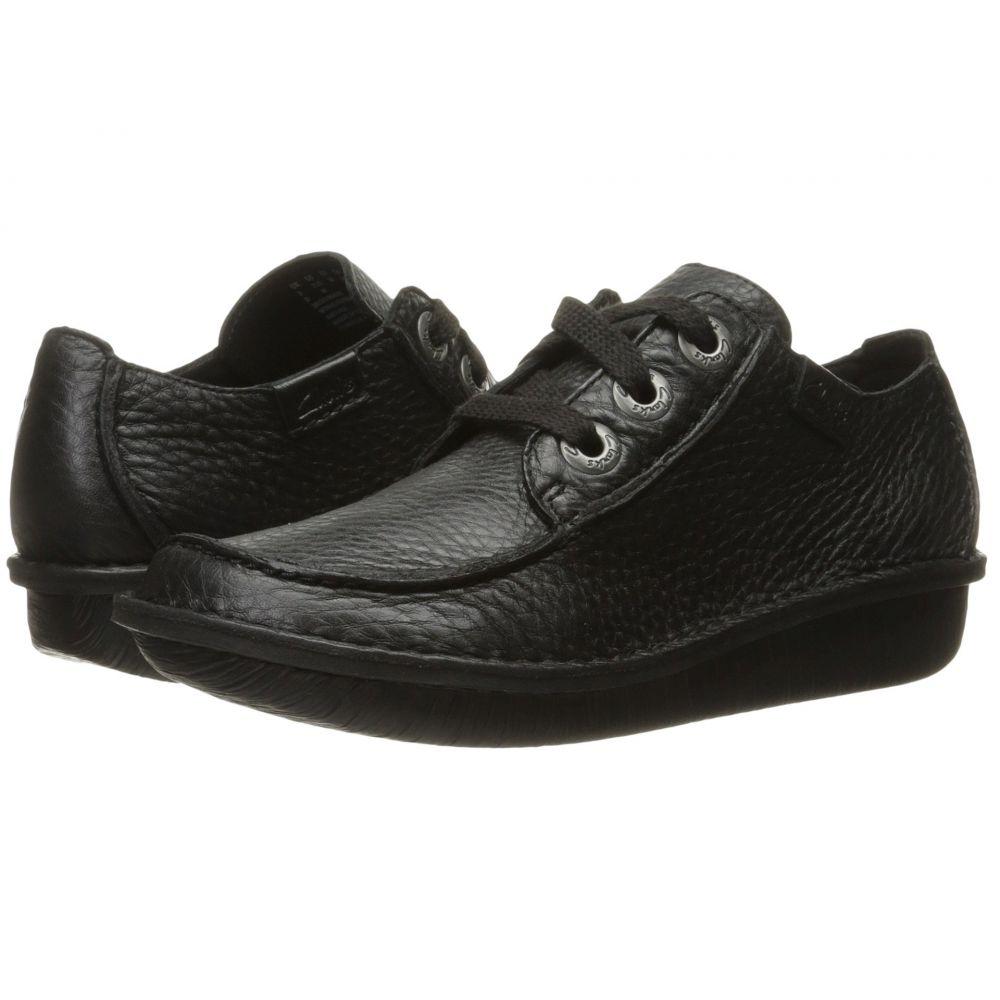 クラークス Clarks レディース ローファー・オックスフォード シューズ・靴【Funny Dream】Black Leather