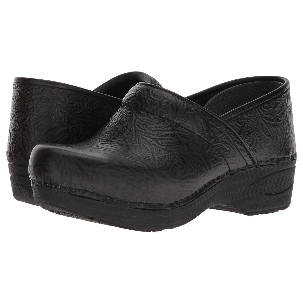 ダンスコ Dansko レディース サンダル・ミュール シューズ・靴【XP 2.0】Black Floral Tooled