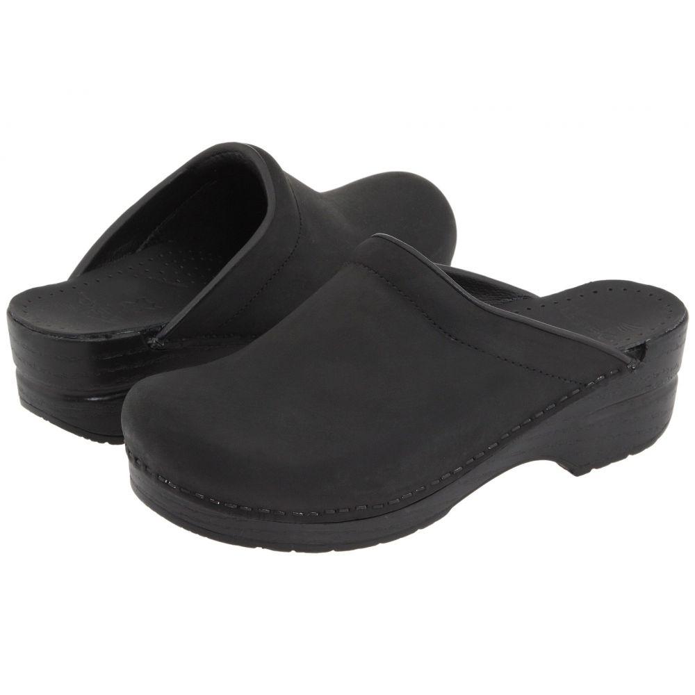 ダンスコ Dansko レディース サンダル・ミュール シューズ・靴【Sonja】Black Oiled
