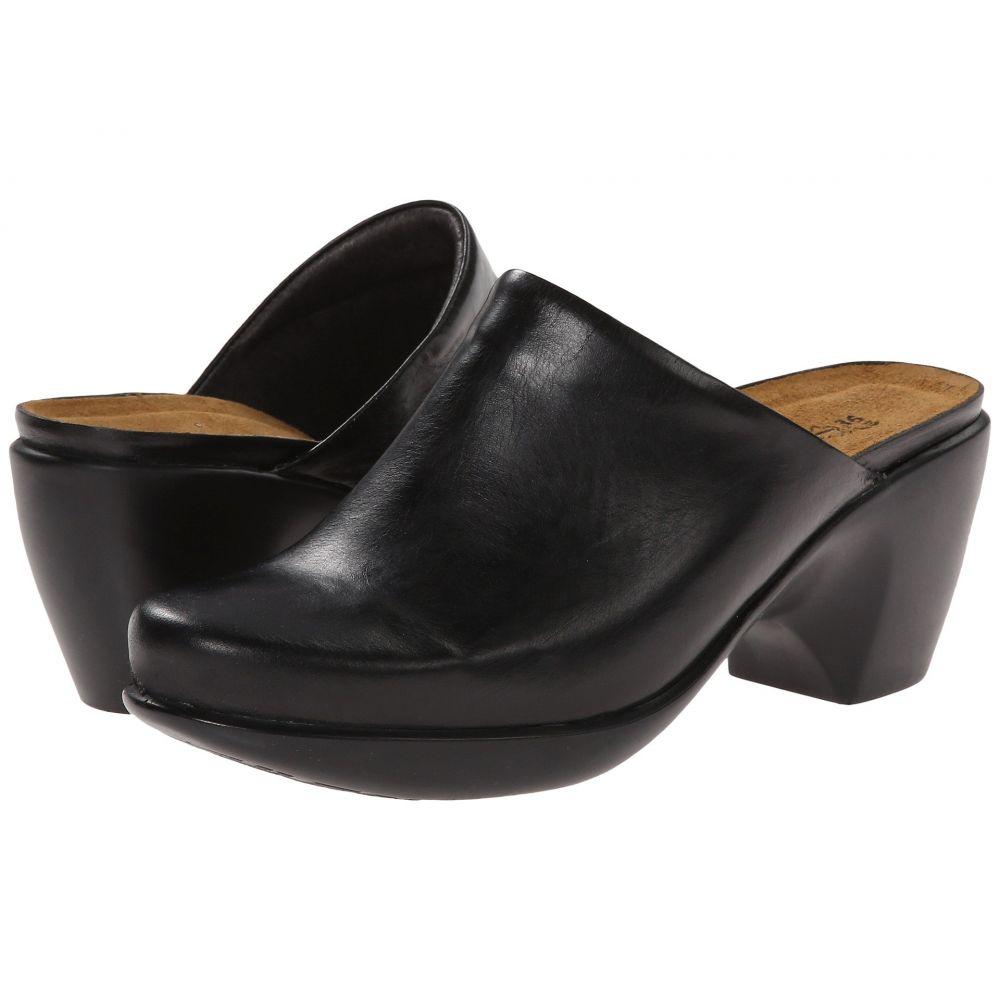 ナオト Naot レディース サンダル・ミュール シューズ・靴【Dream】Black Madras Leather