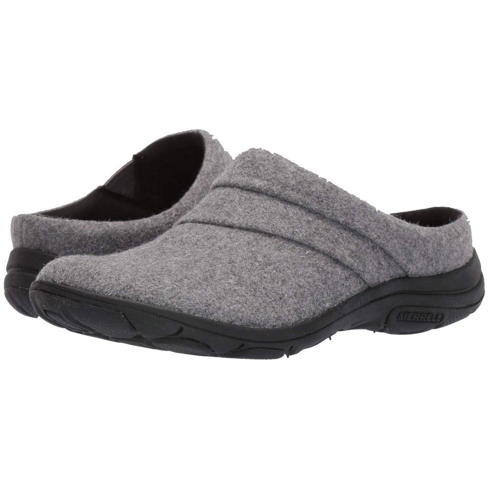 メレル Merrell レディース サンダル・ミュール シューズ・靴【Dassie Stitch Slide Wool】Charcoal