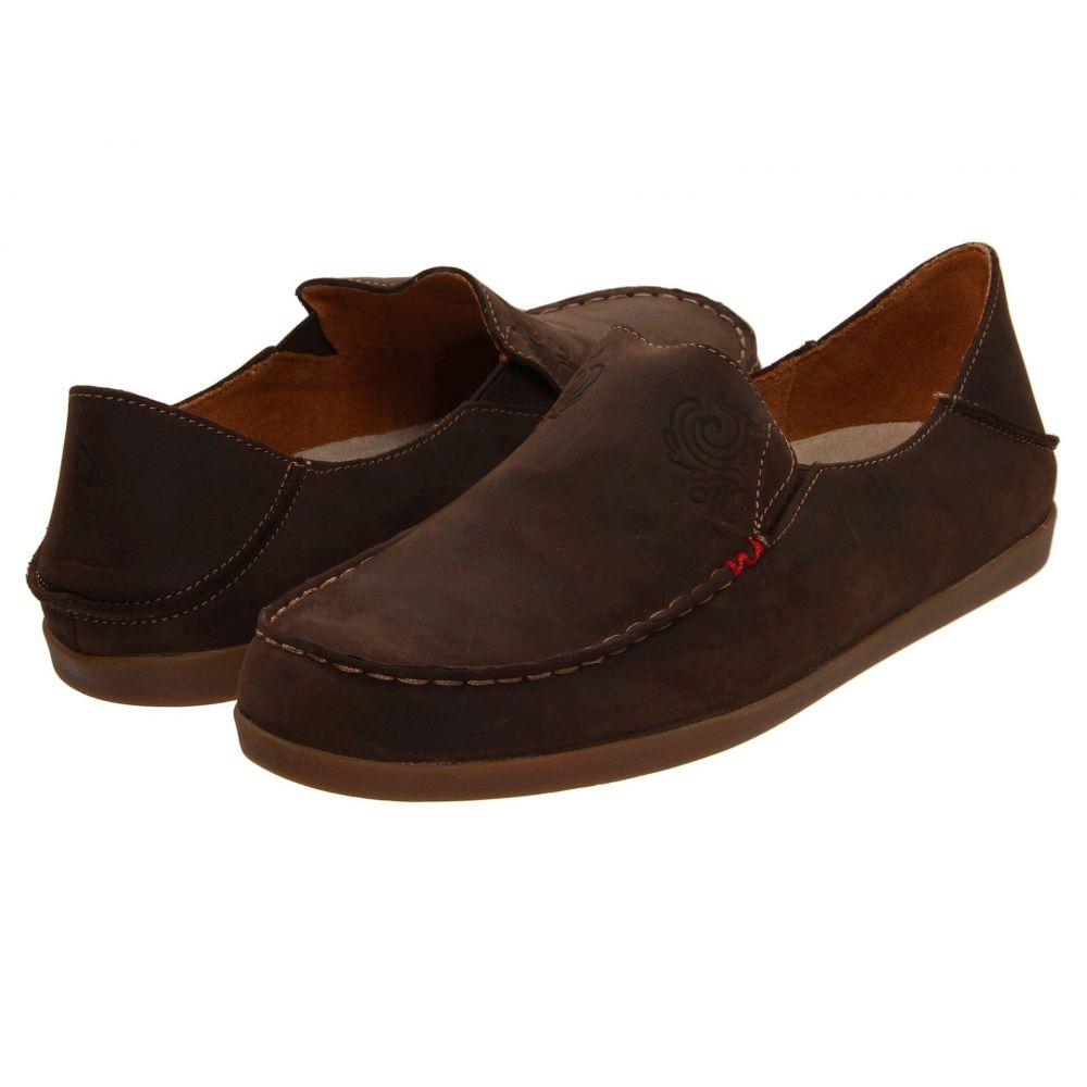 オルカイ OluKai レディース ローファー・オックスフォード シューズ・靴【Nohea Nubuck】Dark Java/Tan