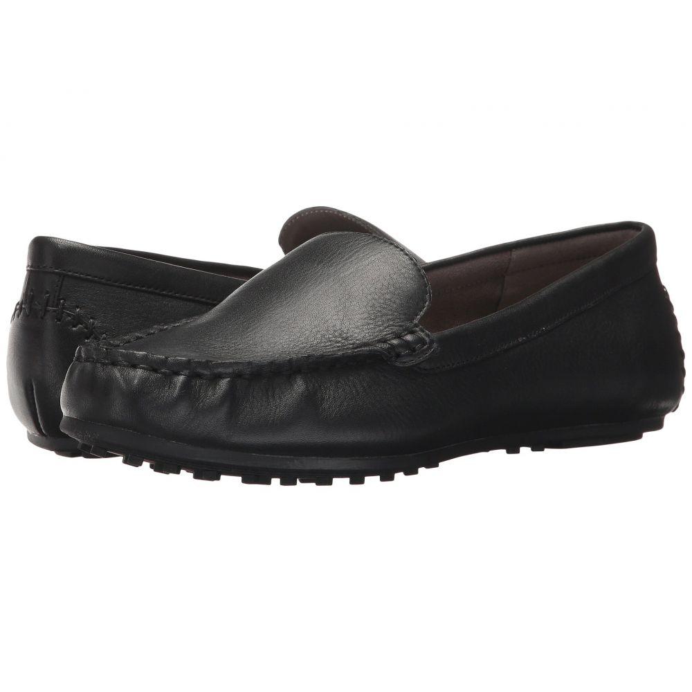 エアロソールズ Aerosoles レディース ローファー・オックスフォード シューズ・靴【Over Drive】Black Leather