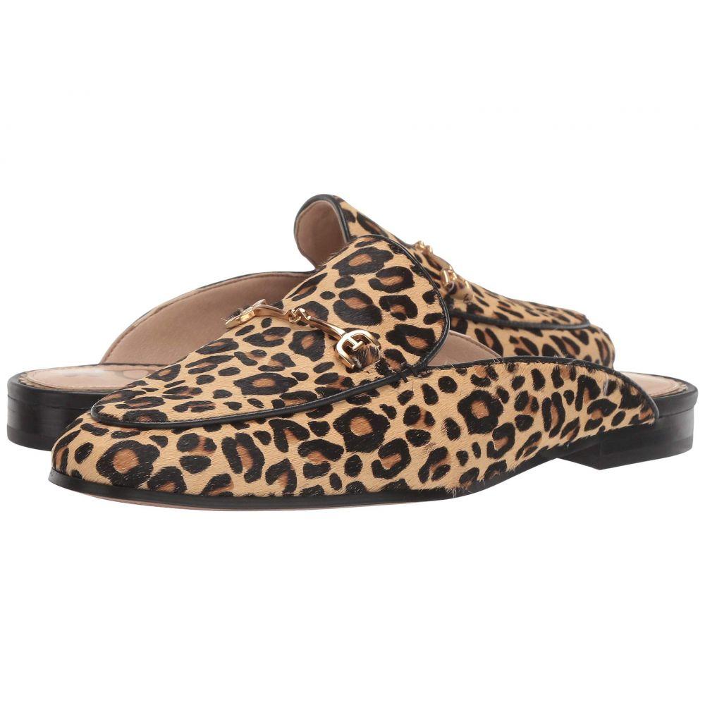 サム エデルマン Sam Edelman レディース ローファー・オックスフォード シューズ・靴【Linnie】New Nude Baby Leopard Brahma Hair