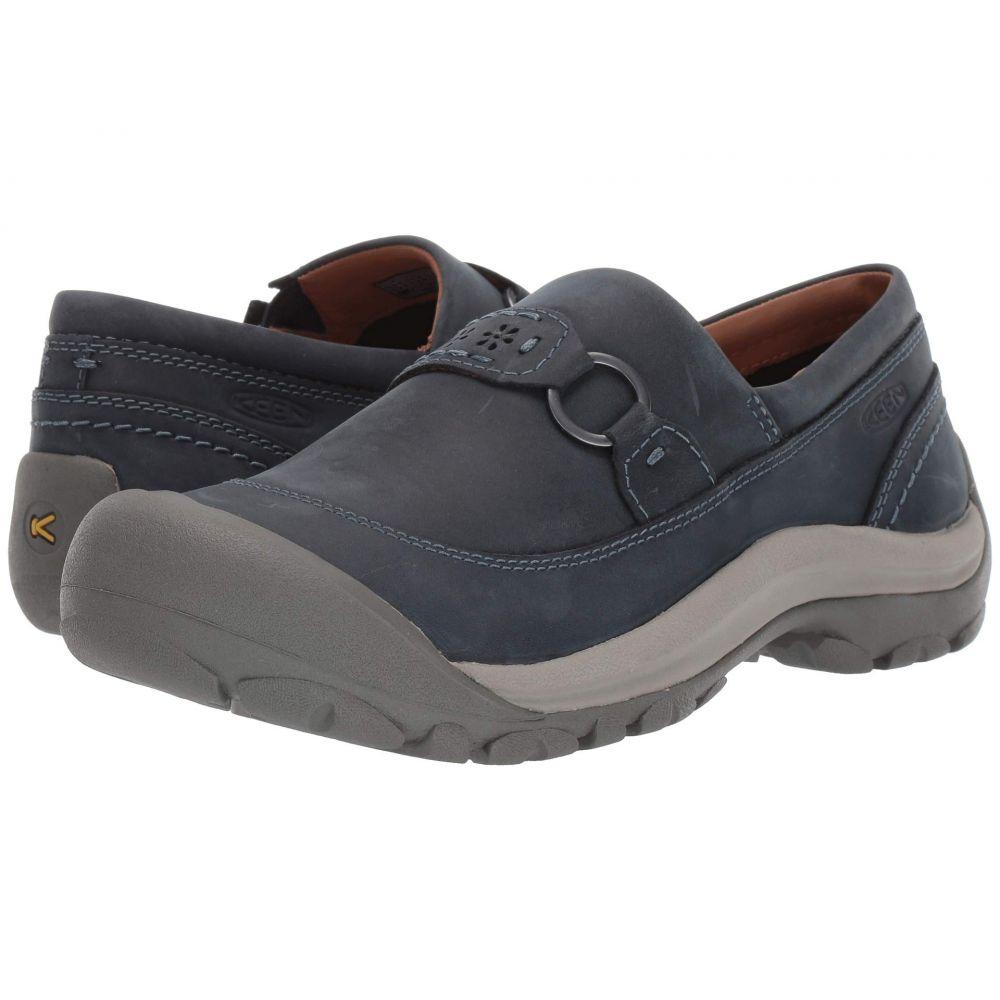 キーン Keen レディース スリッポン・フラット シューズ・靴【Kaci II Slip-On】Dress Blue/Steel Grey