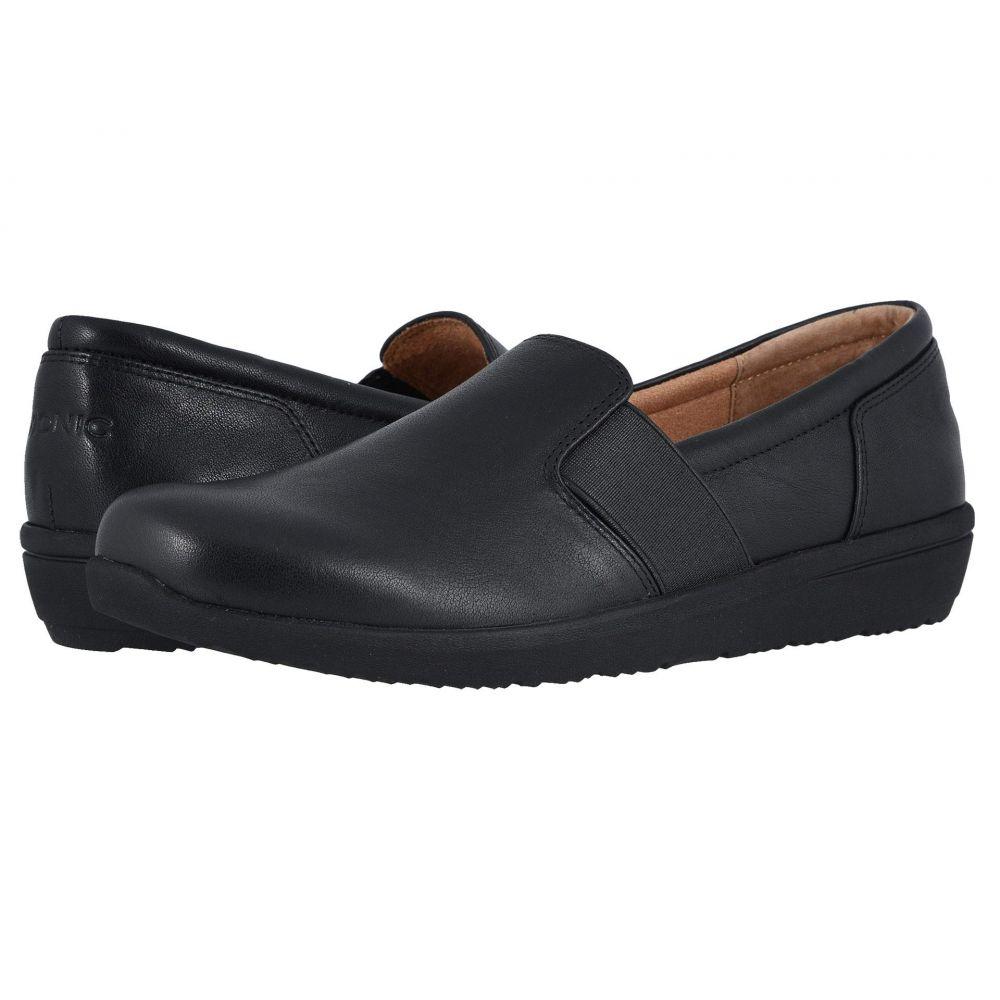 バイオニック VIONIC レディース ローファー・オックスフォード シューズ・靴【Gianna Leather】Black